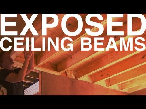 Exposed Ceiling Beams | Day 98 | The Garden Home Challenge With P. Allen Smith