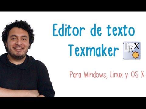 Editor de Texto Texmaker  - TIClass.com