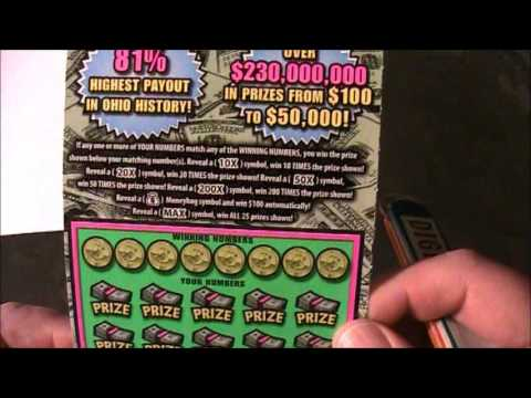 GROUP PLAY $30 OHIO LOTTERY MAX THE MONEY!!!!!!!!