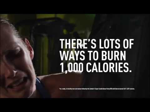 There's lots of ways to burn 1,000 calories (Kickboxing 30 Sec)