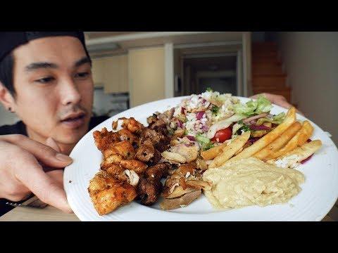 Turkish Food Platter - MUKBANG