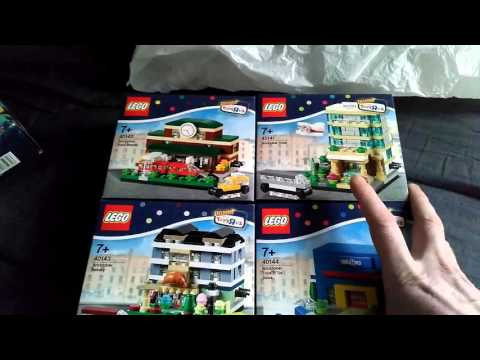 Lego (toys r us ant the entertainer) haul featuring 6 sets