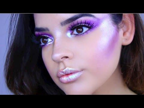 Space Princess Halloween Makeup Tutorial | Jackie Flowers