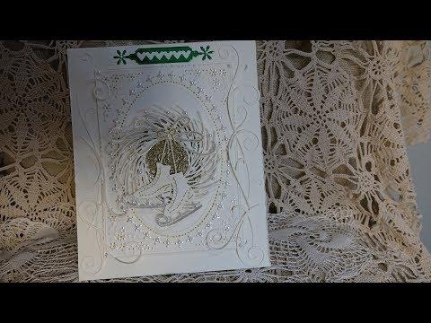 Monochromatic/Foil Christmas Card Winner: Laura Turner