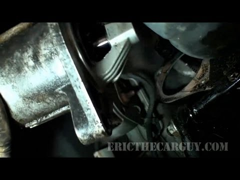 2001 Jeep Grand Cherokee Starter R&R - EricTheCarGuy
