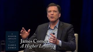 """James Comey, """"A Higher Loyalty"""""""