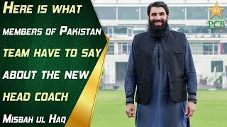 Here is what members of Pakistan team have to say about the new head coach, Misbah ul Haq | PCB