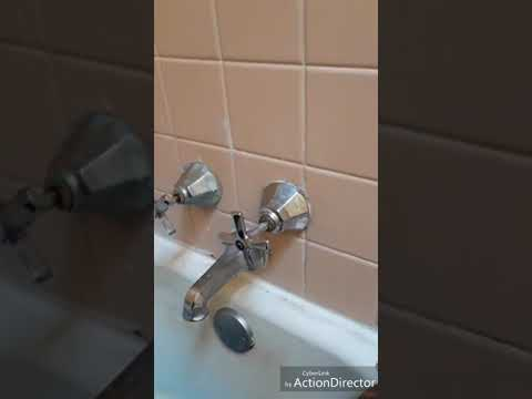 Changing tub faucet washer diy