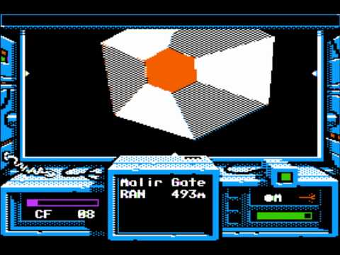 Space Rogue for the Apple II