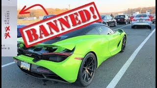 My 720S Got Officially BANNED From the Track... Ran a 9.XX at 147MPH!!!