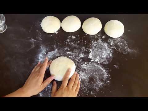Naan recipe | homemade tandoori-style naan | soft naan roti with tandoor-