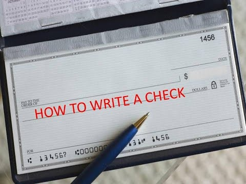 How To Write A Check 6 Best And Easy Ways For Writing A Check