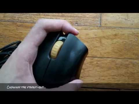 How to Clean DeathAdder Mouse with a Blu-Tack