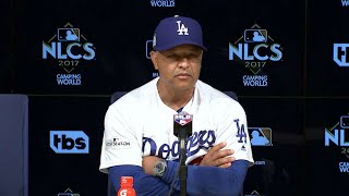 NLCS Gm2: Roberts discusses the Game 2 walk-off win