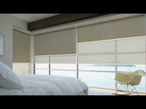 LUXAFLEX® Roller Blinds with EDGE technology