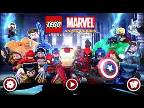Lego Marvel Superheroes (Xbox 360) How to Beat Sentinel, Red Hulk and Kurse