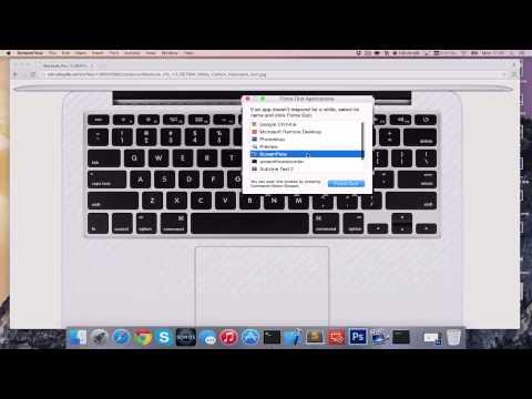 How to CTRL ALT DELETE on Apple Mac [HD][4K][Tutorial][Step by Step] 2017