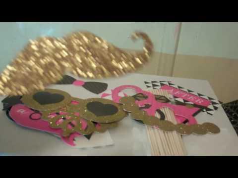 Fabulous Bachelorette & Bridal Shower Party Photo Booth Props