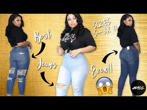 INVEST IN THE BEST JEANS FOR ALL SIZES EVER !!! MONOTIQUES TRY ON HAUL