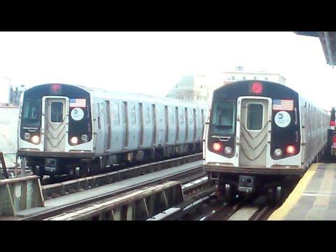 [MTA]: 179th Street & Coney Island Bound R160 (F) Trains @ Avenue U