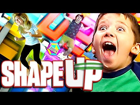 Shape Up: Quick Play Challenges - Multiplayer Gameplay!