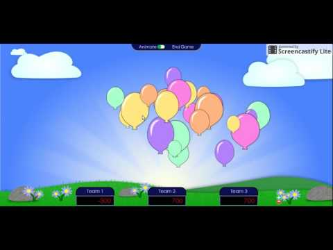 Fraction Operations Moving Targets Game