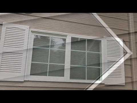 How to install window screens on house windows