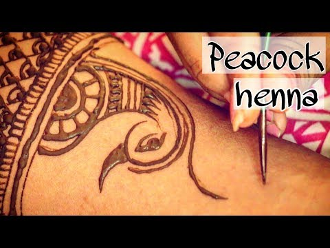 Peacock Henna Designs for Beginners | Henna Tattoo | Mehndi Designs