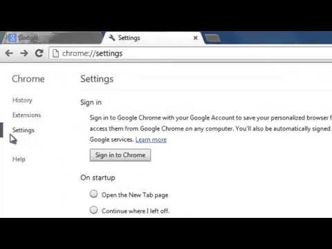 How to Make Google Chrome the Default Browser v26