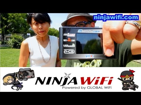 Going to Japan? Get Ninja Wifi!!