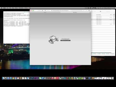 PhoneGap Mac OSX Development Environment Setup (for IOS/iPhone debug)