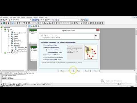 XML Source Qualifier Transformation in Informatica