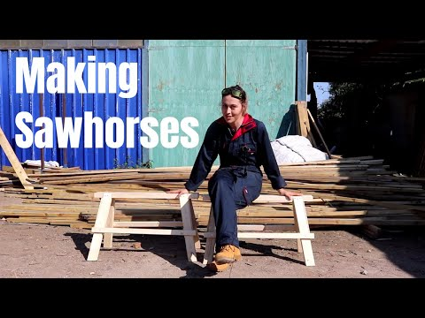 Making Strong & Cheap Sawhorses | The Carpenter's Daughter
