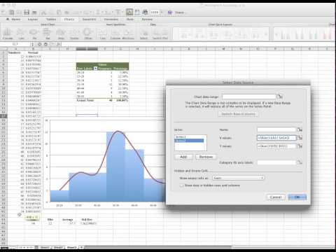 How to overlap Histogram and Normal Distribution graph