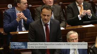 Leo Varadkar lies to the Dáil