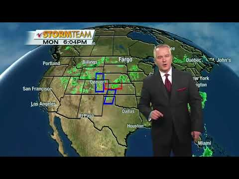 Weather 600pm May 28th, 2018