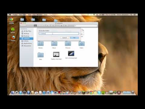 How to find Library in OS X Mountain Lion [HD]