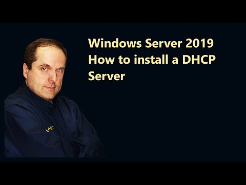 Windows Server 2019 How to install a DHCP Server
