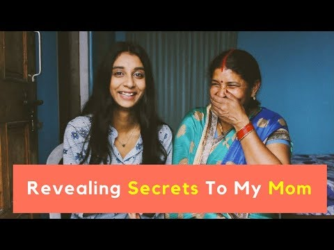 REVEALING SECRETS TO MY MOM | Who I wanted to marry! | Dolly Singh