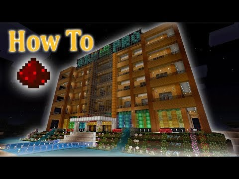 How To Build a Epic Hotel: Minecraft Tutorial
