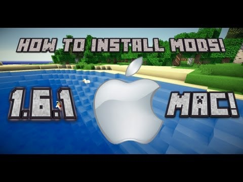 How to Install Minecraft Mods for MAC (1.6.1) NEW LAUNCHER!