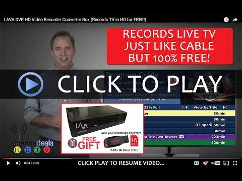 LAVA DVR HD Video Recorder Converter Box (Records TV in HD for FREE!)