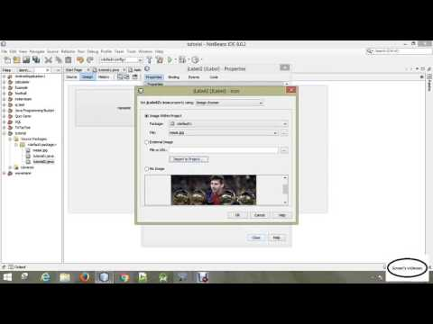 java tutorial | 03   netbeans   adding images to the jframe form
