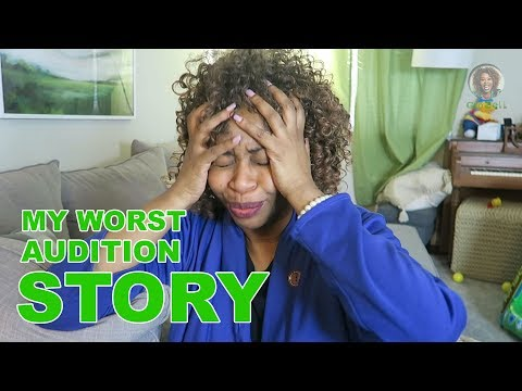My Worst Audition Story - GloZell