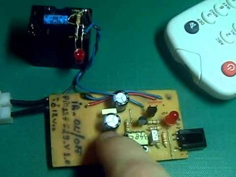 IR ON/OFF switch with PIC12F629 v.2.0