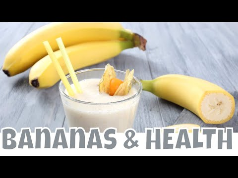 BANANAS :HEALTH BENEFITS OF BANANAS. Is it GOOD to Eat a Banana in the Morning?