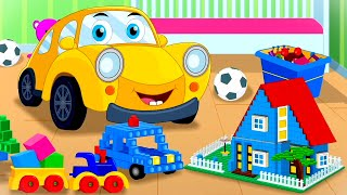 Lets Build | Ralph And Rocky | Car Song For Children | Car Cartoon Videos from Kids Tv Channel
