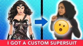 I Designed A Custom Superhero Suit 💥