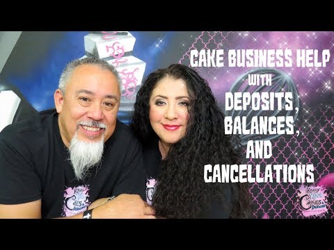 Cake Deposits, Balances, And Cancellations - Cake Business Help!