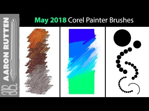 May 2018 New Corel Painter Brushes